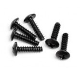 Round Head Screw M3x12mm (6Pcs)