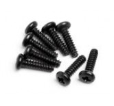 Round Head Screw M2x8mm (8Pcs)