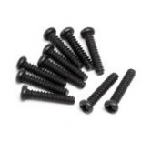 Round Head Screw M2x10 (10 )