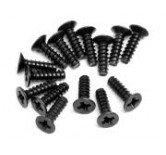 Countersunk Cross Head Self-Tapping Screw M3x10mm