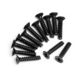 Countersunk Cross Head Self-Tapping Screw M3x14mm