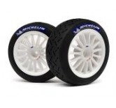 MOUNTED TARMAC TIRE_WHEEL SET (WHITE_2PCS) WR8