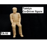TA-10 - Tamiya Co-Driver figure