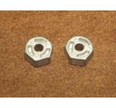 wheels hubs 12mm (2 pieces)