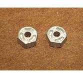 wheels hubs 12mm (2 pieces)