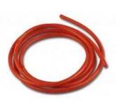 Silikon kabel 4,0mm 1 meter Rød