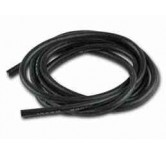 Silicone cable 2,5qmm x 1.000mm, black