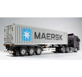 40ft MAERSK conteiner W.semi trailer