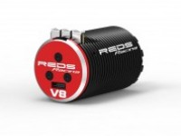 BRUSHLESS MOTOR REDS V8 1900KV 4 POLE SENSORED