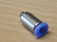 Steckanschluss M3 gerade 3mm Schlauch