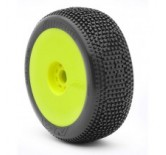 1:8 Buggy Tyres on yellow Rims IMPACT SOFT