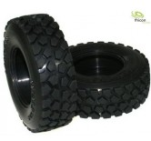 1:14 Wide Tire ?terrain? with inserts couple