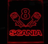 Scania 6 Red