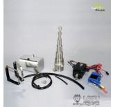 Hydraulik-Set 3-Achs Hinterkipper mit Zylinder und Pumpe thicon-models