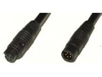 Hann kontakt 4 pol. med 2 meter kabel