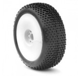 1:8 BUGGY I-BEAM (SOFT - LONG WEAR) EVO WHEEL PRE-MOUNTED WHITE