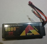 Hard Case 6000 Mah 35C 2S