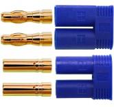 Stecker + Buchse, 10 Paar im Beutel BASIC Qualität - Asien 3 s: 180 A
