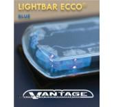 ECCO Vantage lightbar Blu